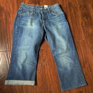 Lucky Brand Easy Rider Crop Jean